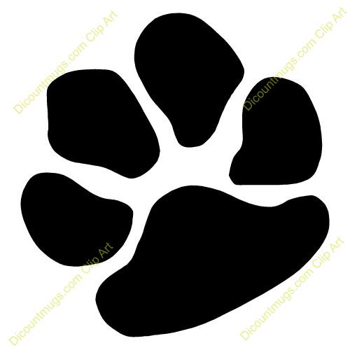 This Dog Paw Clip Art