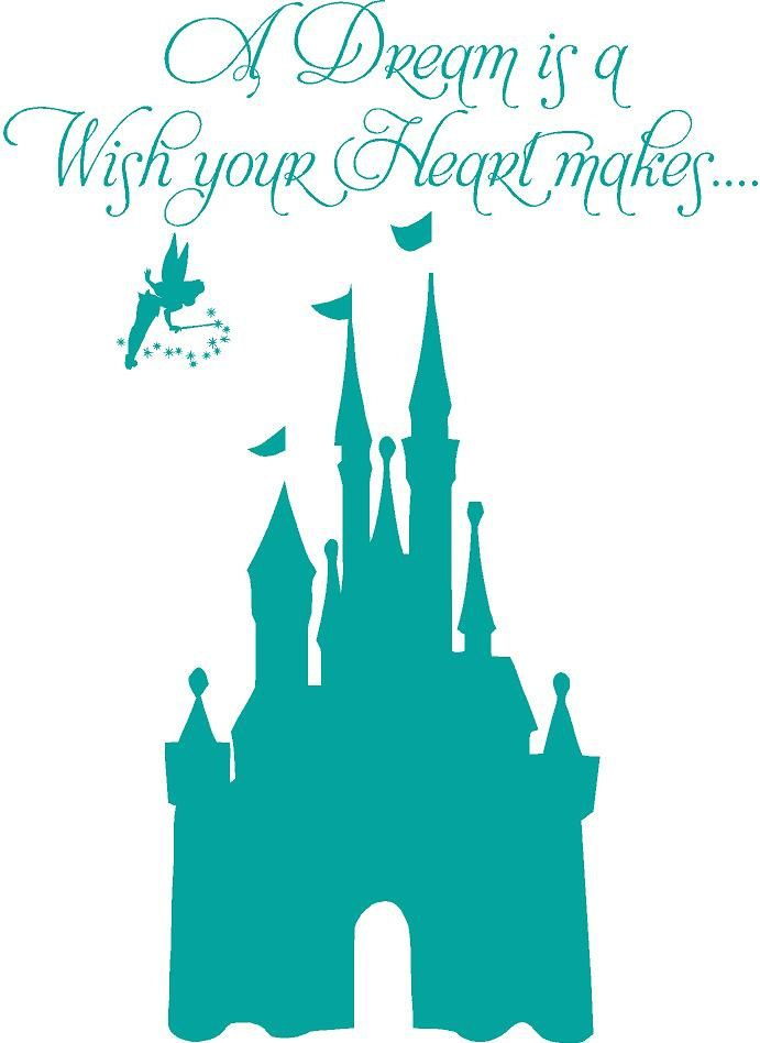This is best Disney Castle Clipart Disney Castle Princess L X Hpink Cinderella Girls Vinyl Wall for your project or presentation to use for personal or ...