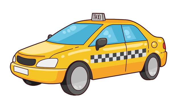 This nice cartoon yellow taxi cab clip art is free for personal or commercial use. Use this clip art freely on your book illustrations, school projects, ...