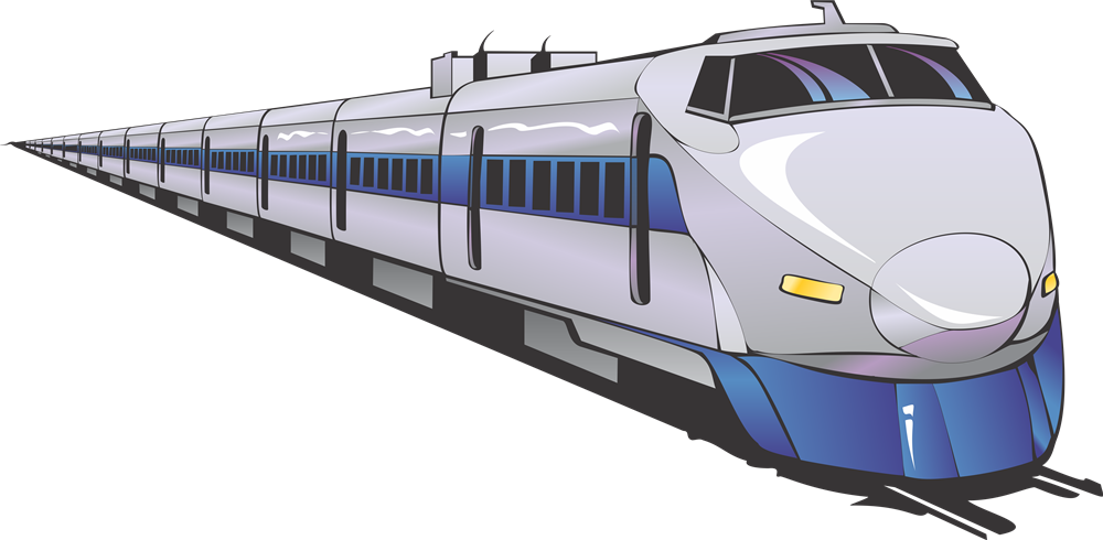 This nice clip art of a modern train is free for personal or commercial use. Add this clip art to your reference books, transportation projects, websites, ...
