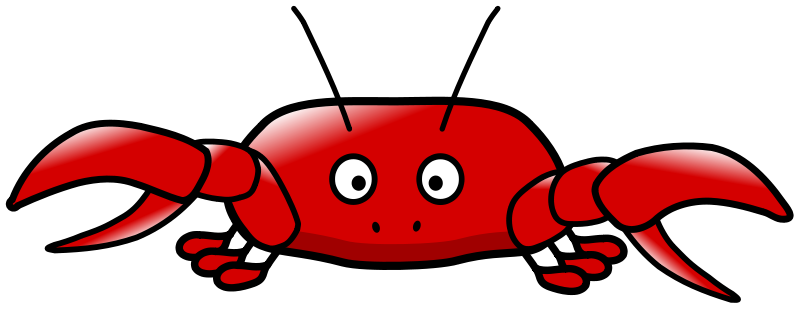 This very cute cartoon crab clip art can be used for your personal or commercial use. Use this cartoon crab clip art on your school projects, comic books, ...