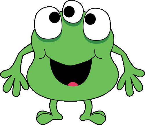Three-Eyed Green Monster