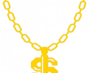 Thug Life Chain Dollar Sign PNG transparent