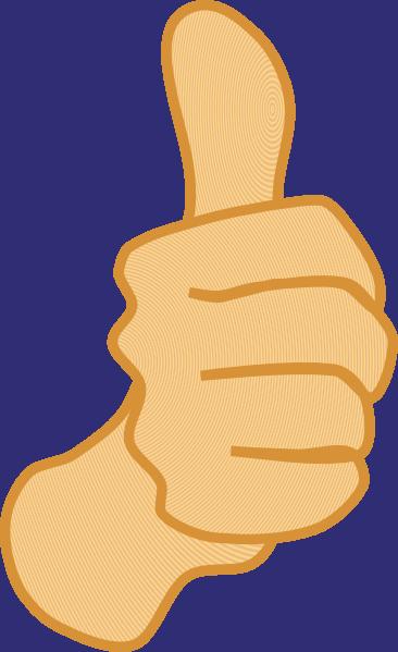Thumbs Up 3 Clip Art At Clker Com Vector Clip Art Online Royalty