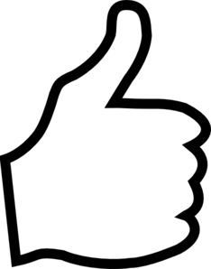 Thumbs up clipart free free .