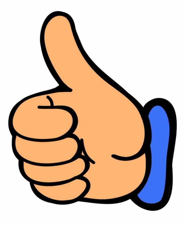 Thumbs up thumb up clip art at vector clip art 2
