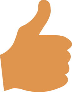 Thumbs up thumb up clip art clipart 2