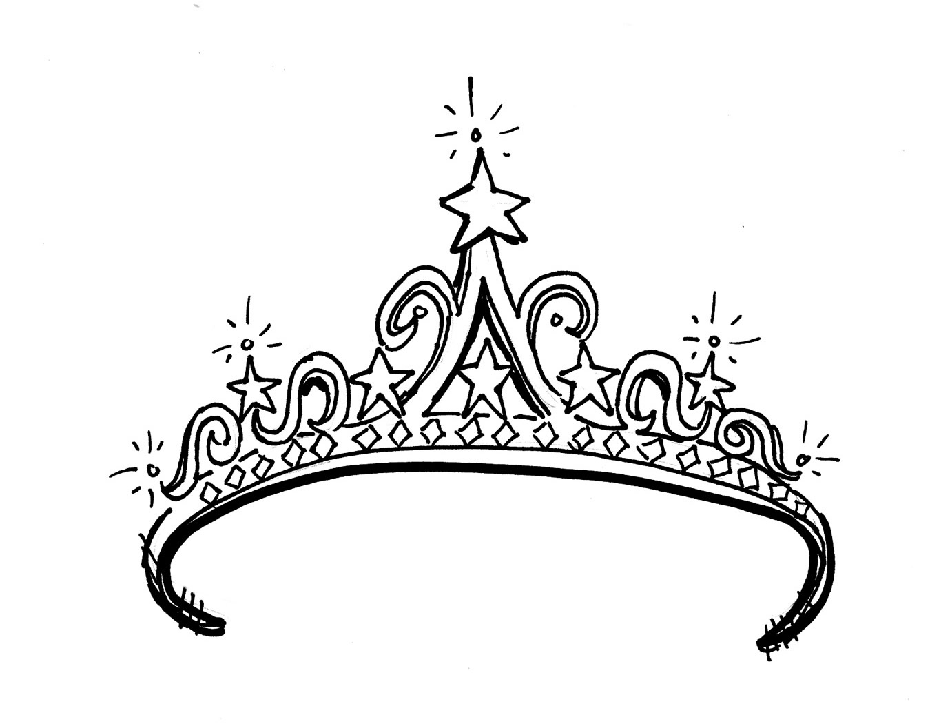 Tiara clip art to download clipartcow