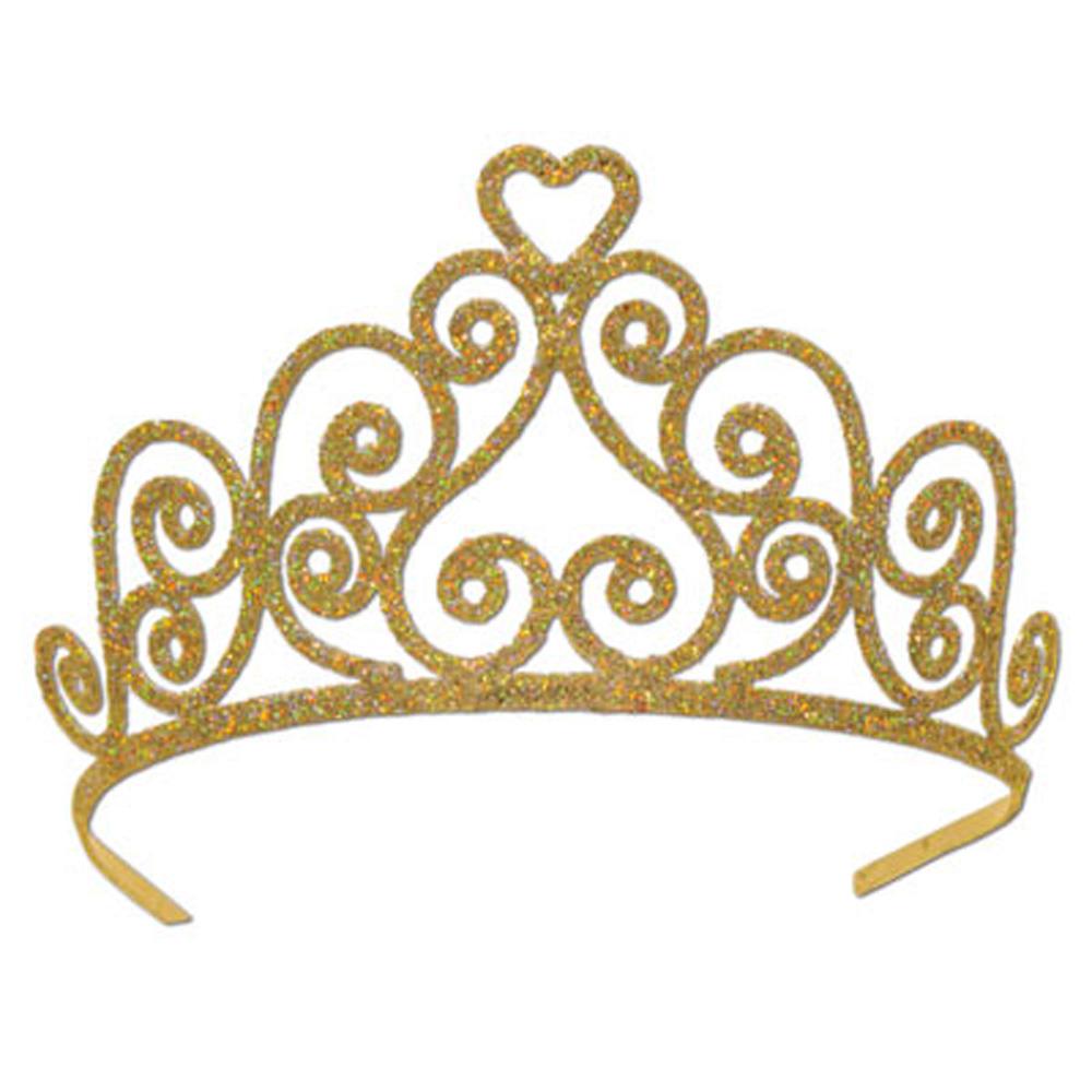 Golden Tiara Clipart #1