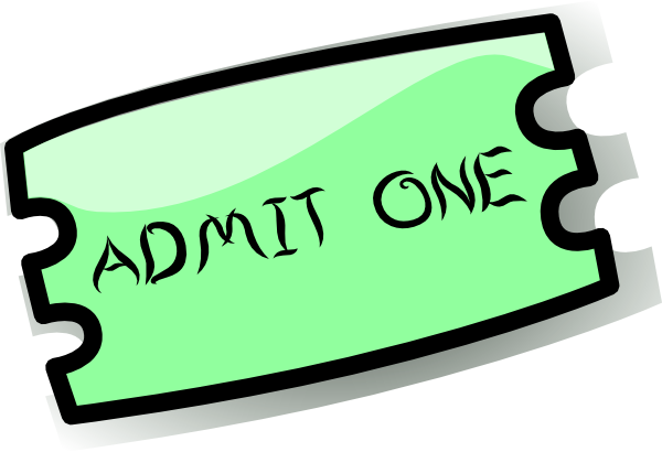 Ticket Clip Art At Clker Com Vector Clip Art Online Royalty Free