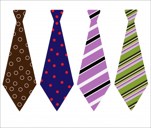 Neck Ties Clipart