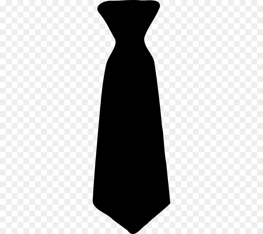 Necktie Bow tie Black tie Cli - Tie Clipart