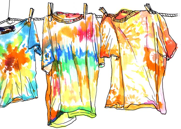 Tie Dye Clip Art Free; .