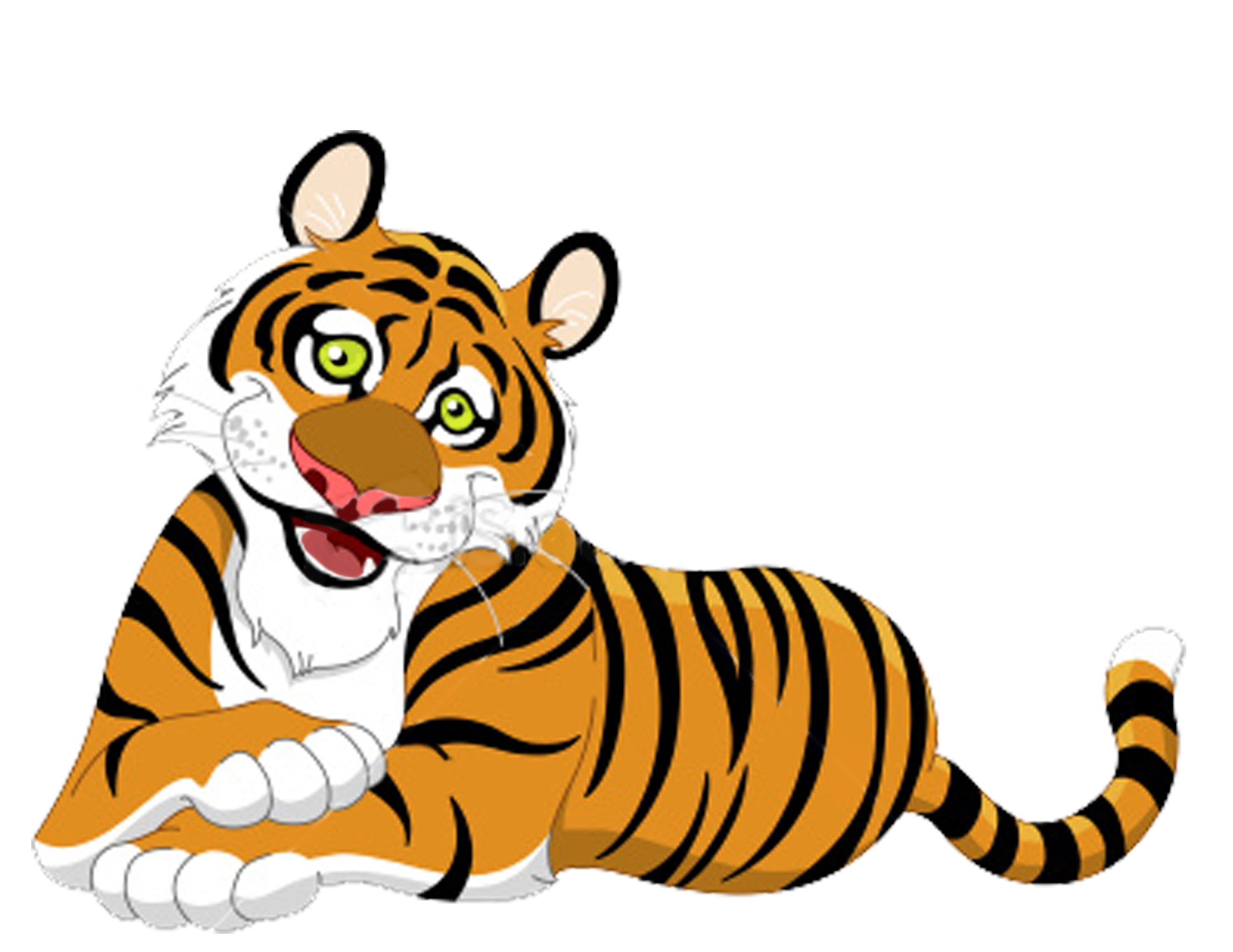 Tiger clip art images free .