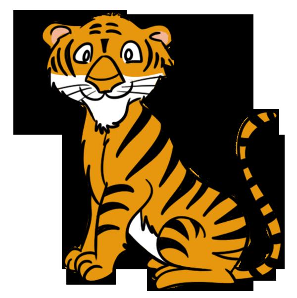 Cub tiger png clipart