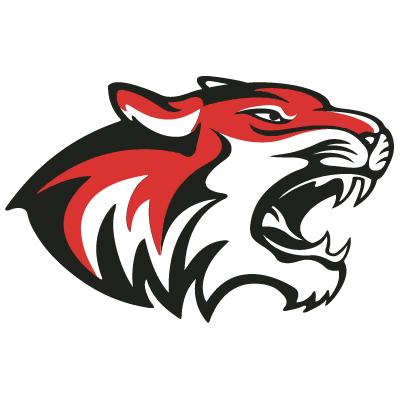 Tiger Mascot Clip Art 919A