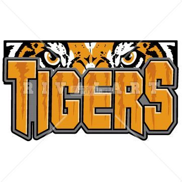 tigers basketball Mascot Clip Art | Mascot Clipart Image of A Tigers Logo http:/