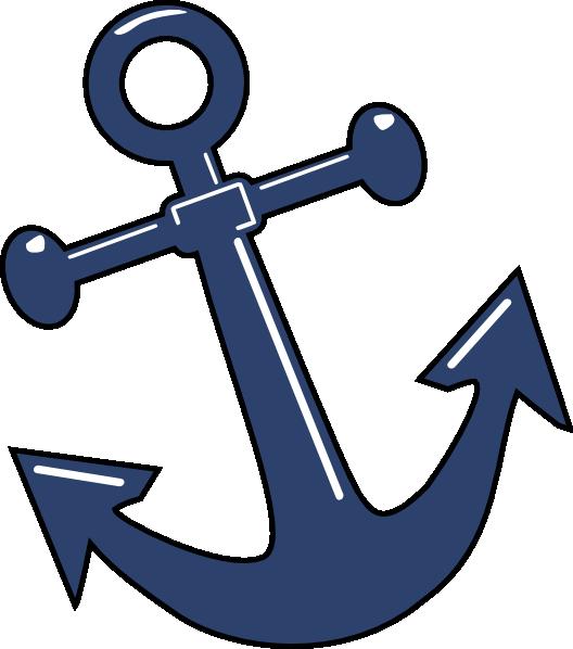 Tilted Anchor Clip Art At Clker Com Vector Clip Art Online Royalty