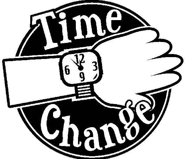 Time Change Trinity Lutheran Church