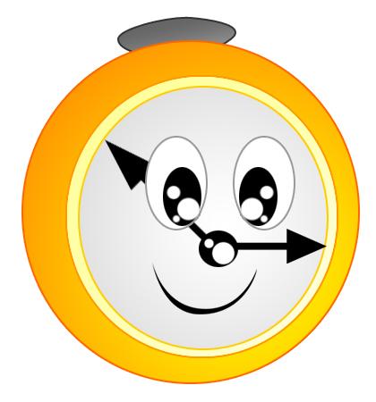 Time Clock Clip Art - Time Clock Clip Art