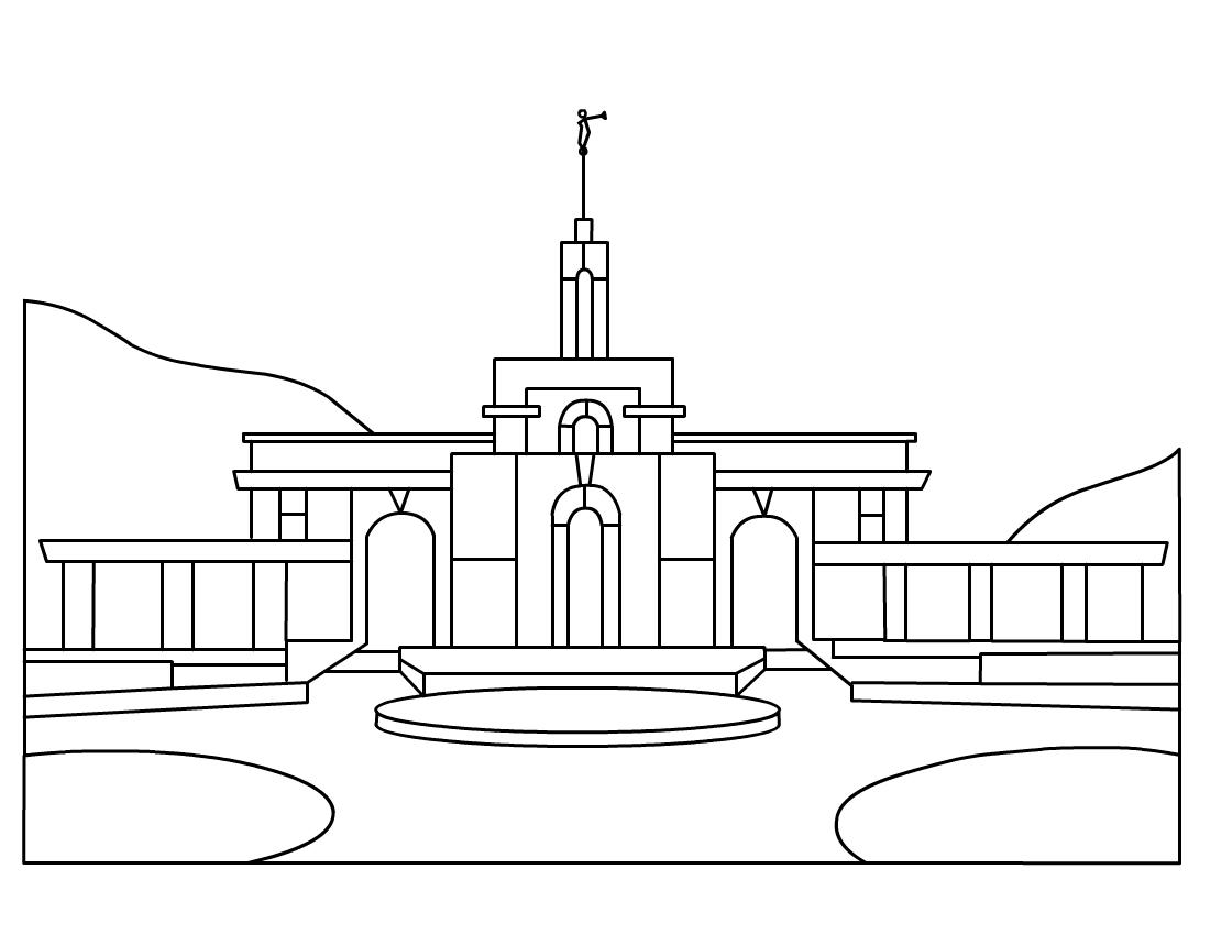 Timpanogos Temple LDS Clip Art ...