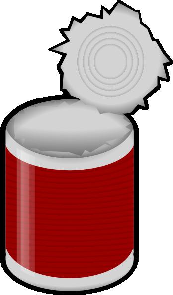 Tin Can Clip Art At Clker Com Vector Clip Art Online Royalty Free