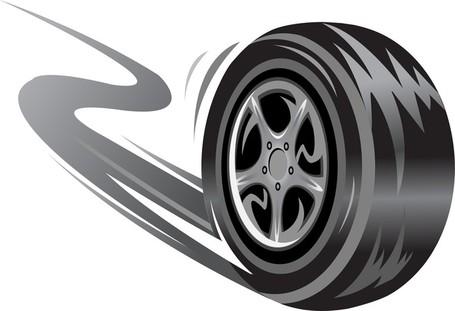 Tire Brake Printed 02; Tire