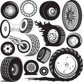 ... tires wheels ...