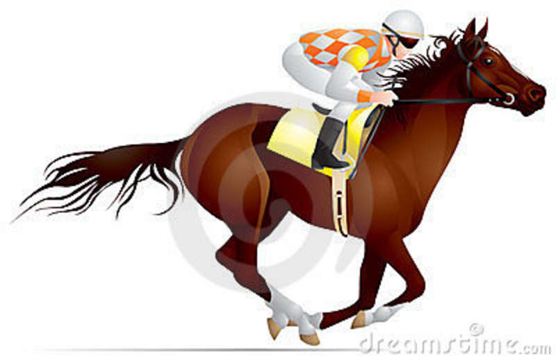 To Get More Race Horse And Horse Racing Clip Art Be