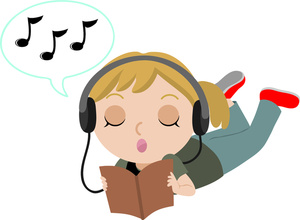 To Listen To Music Clipart