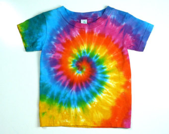 Toddler Tie Dye Tee Shirt, .