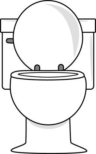 Toilet clip art vector toilet graphics image