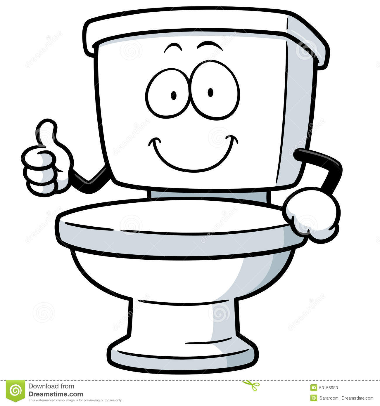 1300x1390 Cartoon Toilet Clipart