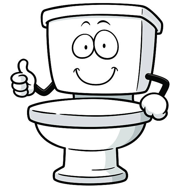 Royalty Free Toilet Clip Art