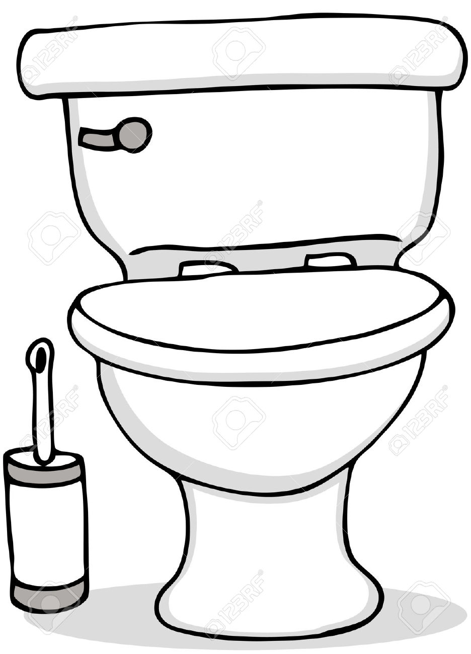 Toilet clipart animated #3