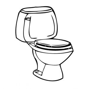 Toilet clipart efficient #1