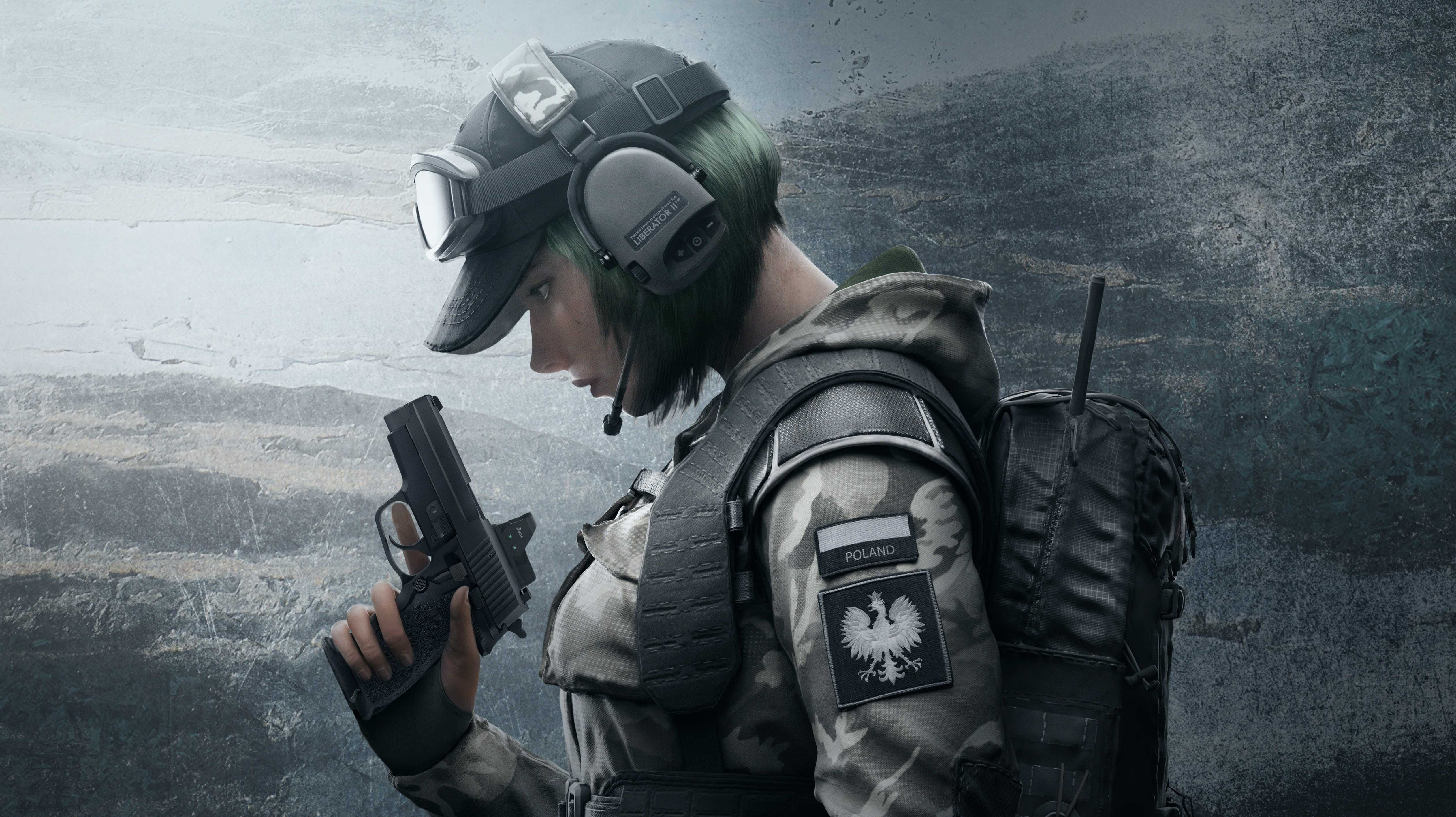 Tom Clancys Rainbow Six Siege Soldier 5k Tom Clancys Rainbow Six Siege  Soldier 5k is an HD desktop wallpaper posted in our free image collection  of gaming ClipartLook.com