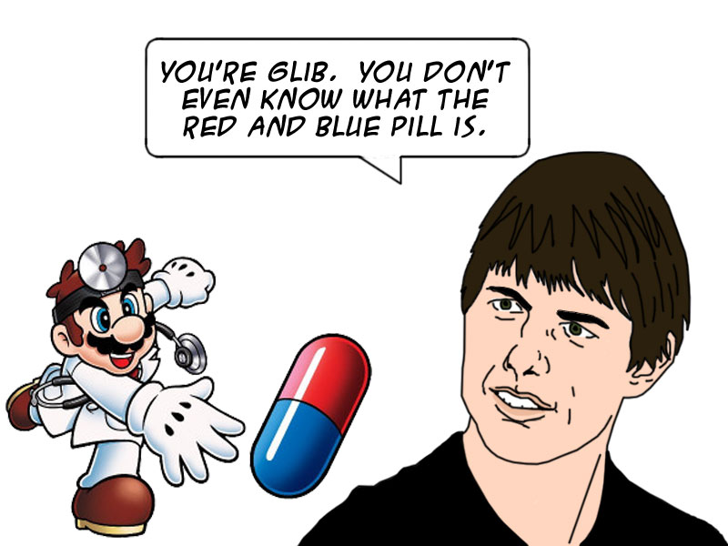 Tom Cruise vs Dr. Mario by vladpiranha hdclipartall.com