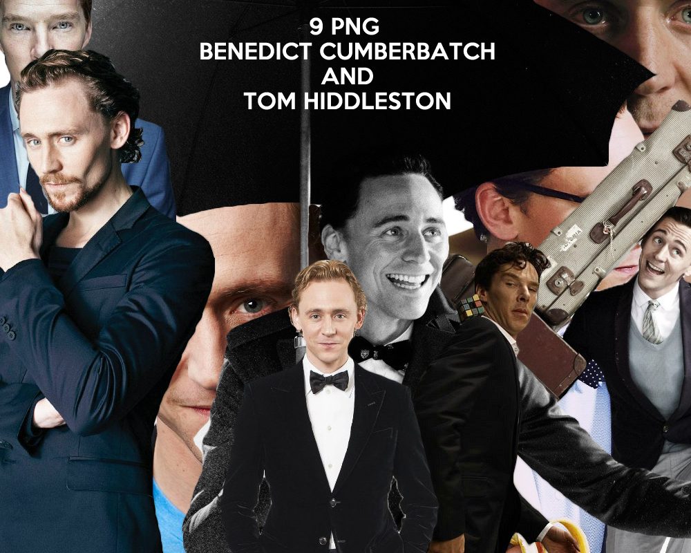 Clipart Benedict Cumberbatch and Tom Hiddleston by By-Queen ClipartLook.com