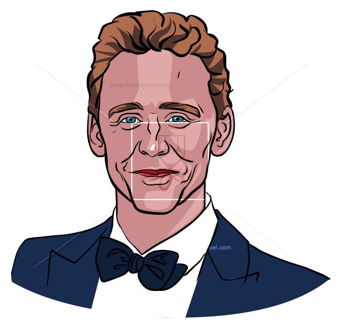 Tom Hiddleston | Free vectors, illustrations, graphics, clipart, PNG  downloads | fineartpixel clipartlook.com