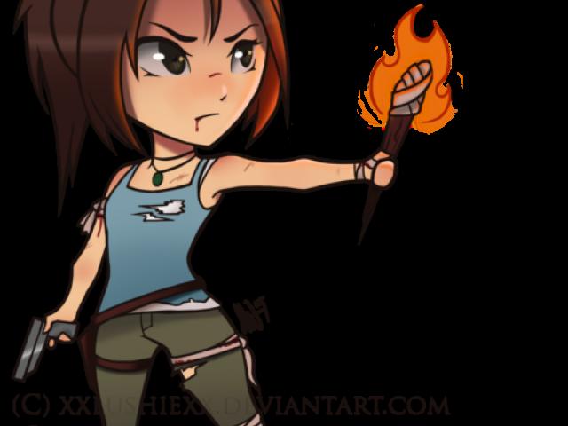 Tomb Raider Clipart tener
