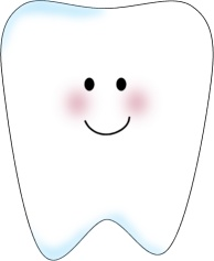 Tooth clip art template for the front of a tooth pillow. Put square on back