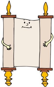 Torah Scroll Clip Art