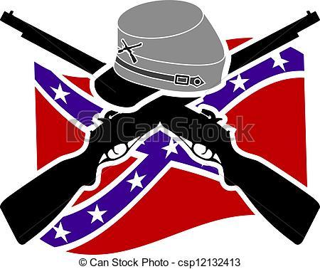 American Civil War. Confederacy - csp12132413