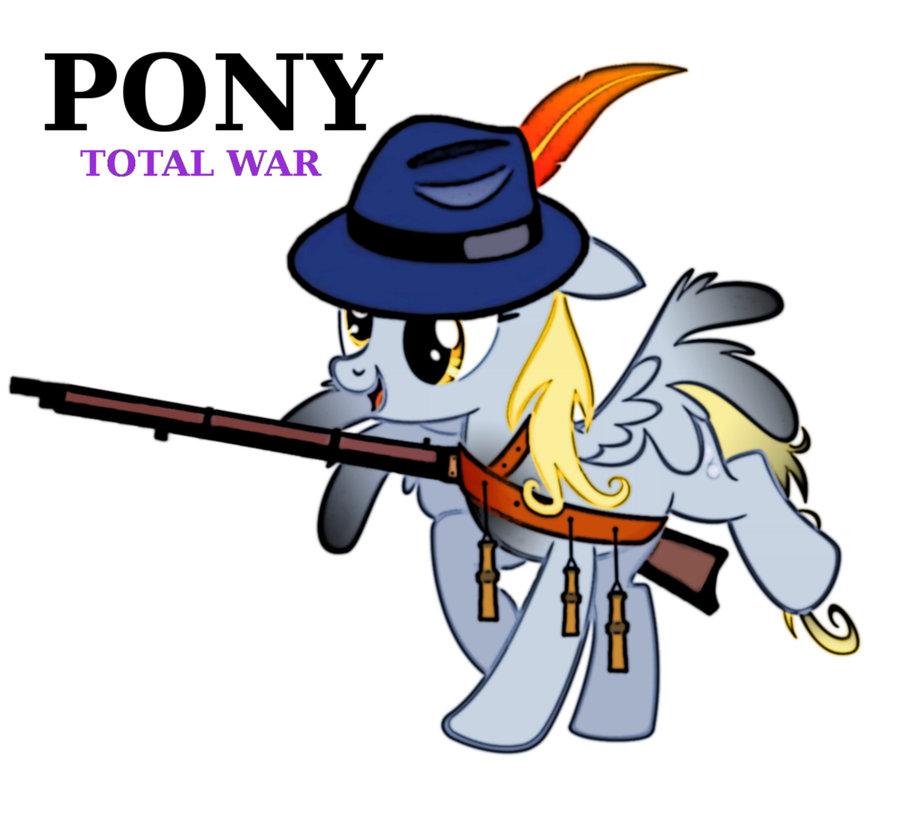Pony total war - derpy musketeer by Dekiel00 ClipartLook.com
