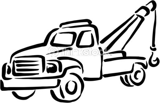 tow truck clip art | Tow Truck Vector Art 88344431 | Thinkstock | Random | Pinterest