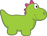Toy Dinosaur Clipart Size: 57 Kb