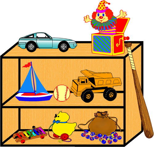 Toy Shelf 2 Png Clipart By Clipartcotttage On Deviantart