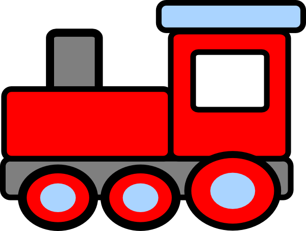 Toy trains clipart free clipart images