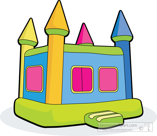 Toys Childrens Bouncy House Classroom Clipart